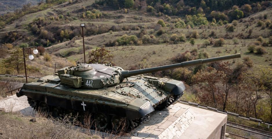 Conflict zone Karabakh